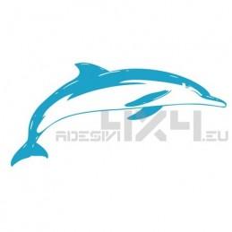 Adesivo delfino mod.b
