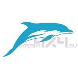 Adesivo delfino mod.c