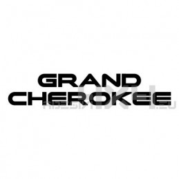 Adesivo jeep scritta grand cherokee