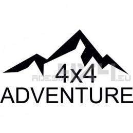 Adesivo montagne 4x4 adventure mod01