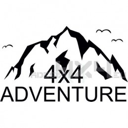 Adesivo montagne 4x4 adventure mod02