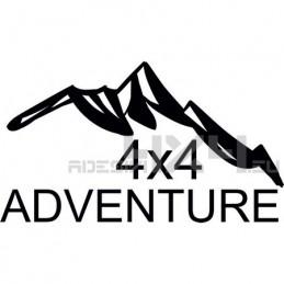 Adesivo montagne 4x4 adventure mod03
