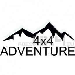 Adesivo montagne 4x4 adventure mod04