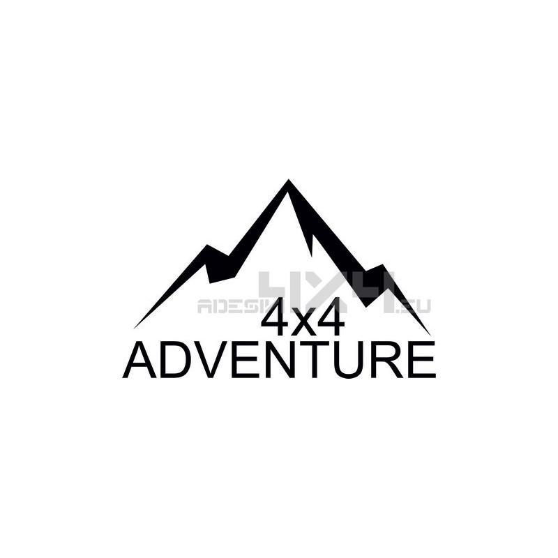 Adesivo montagne 4x4 adventure mod05