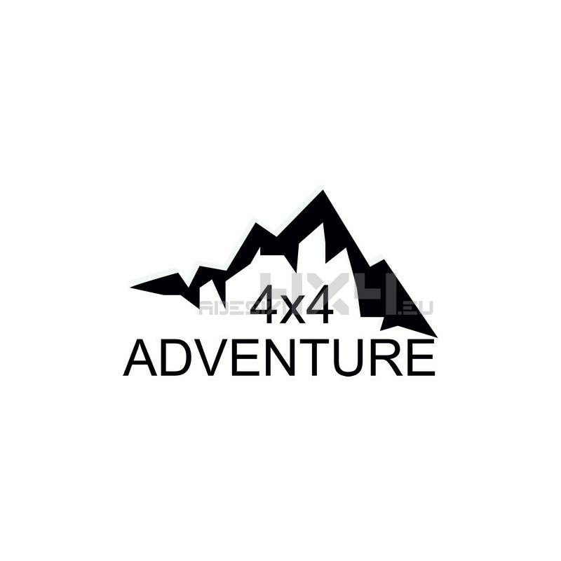 Adesivo montagne 4x4 adventure mod06