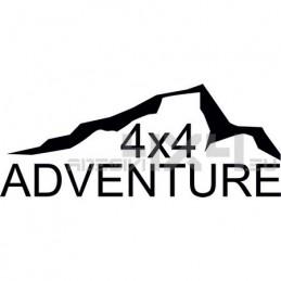 Adesivo montagne 4x4 adventure mod07