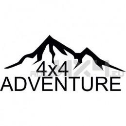 Adesivo montagne 4x4 adventure mod08