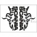 Adesivo SCANIA logo TOP
