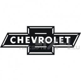 Adesivo chevrolet logo scritta