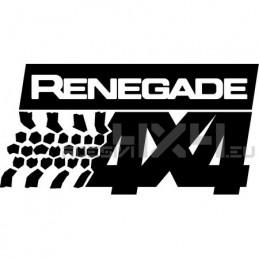 Adesivo Renegade 4x4